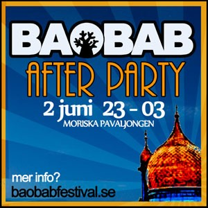 Baobab 2012 Afterparty